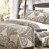 Chic Home Livorno Reversible Printed Quilt Set (2- or 3-Piece)