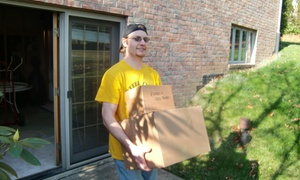 Steel City Movers: $99 for Two Hours of Moving Services with Two Movers from Steel City Movers ($200 Value)