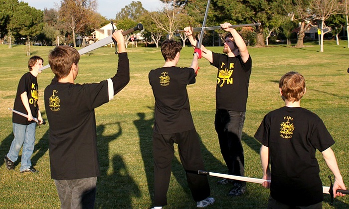 Swordscholar - Multiple Locations: One or Two Months of Unlimited Medieval Martial Arts Classes at Swordscholar (Up to 68% Off)