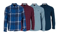 Men's Timberland Cotton Shirts in Choice of Style for £27.98 With Free Delivery
