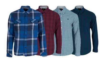 mens timberland cotton shirts