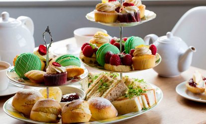 image for Choice of Traditional, Seasonal or Sparkling Afternoon Tea for Two or Four at The Village Tearoom (Up to 44% Off)