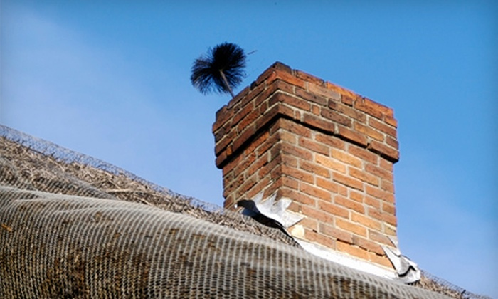 Affordable Tuckpointing Pros - Elmhurst: Chimney Sweep Service for One or Two Chimneys from Affordable Tuckpointing Pros (Up to 60% Off)