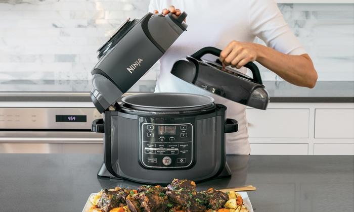 Ninja Foodi Pressure Cooker Steamer Air Fryer Set Refurbished