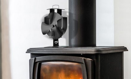 One or Two Zennox Tri-Blade Stove Fans