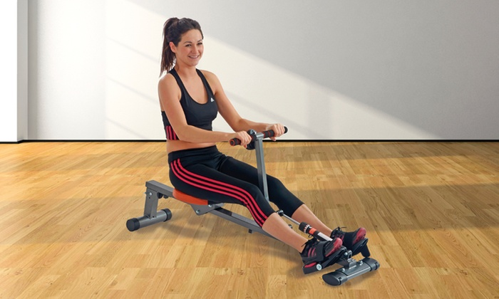 Groupon Goods Global GmbH: Body Fit Rowing Machine With Free Delivery