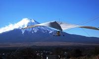 【最大54%OFF】富士山に向かって飛び立とう。手軽な飛行体験。お子様と2人乗りも、車椅子の方もOK≪トーイング飛行2回(大人料金)/他...