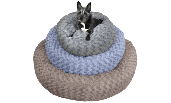 Enjoyable Up To 63 Off On Deep Dish Plush Donut Dog Bed Groupon Goods Machost Co Dining Chair Design Ideas Machostcouk
