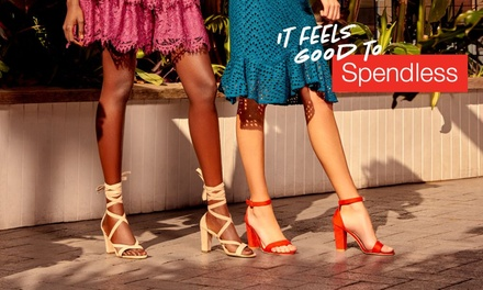 Spendless Shoes: $10 Credit Min.Spend $50 Valid for InStore or Online at 205 Locations