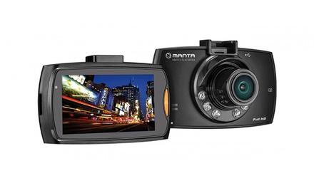 Caméra HD 170° de tableau de bord Manta avec batterie integrée