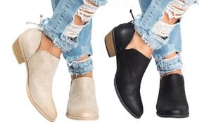 Low boots à talons Irina