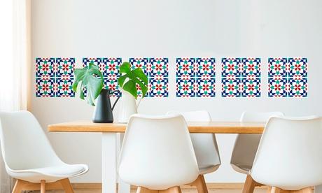 Set de 24 vinilos para decorar azulejos