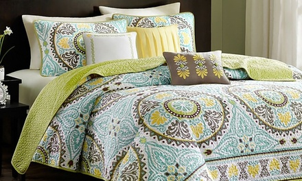 Hotel 5th Ave Florence Collection Queen Quilt Set 3 Piece