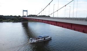 Ruhrorter Personenschifffahrt: Hafenrundfahrt für 1 oder 2 Personen oder Programmrundfahrt mit der Ruhrorter Personenschiffahrt (bis zu 26% sparen*)
