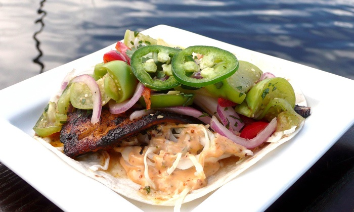 Nippers Beach Grille - Jacksonville Beach: Southern Coastal Cuisine at Nippers Beach Grille (50% Off). Two Options Available.
