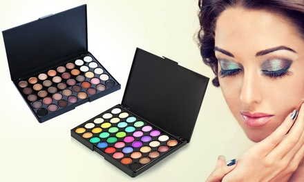 One or Two 40-Colour Eyeshadow Palettes