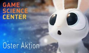 Game Science Center: Pärchen-Ticket oder Familien-Ticket für das Game Science Center inkl. Getränken (bis zu 29% sparen)