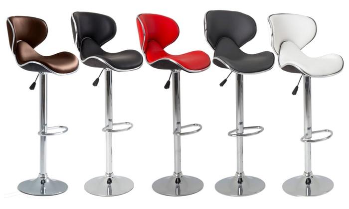lot de tabourets de bar willy groupon. Black Bedroom Furniture Sets. Home Design Ideas