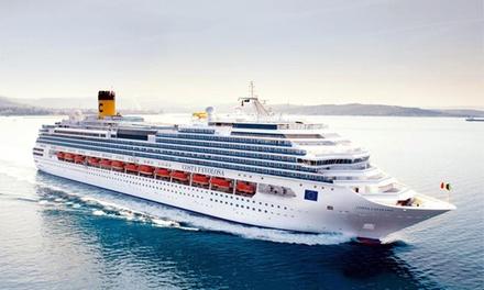Crucero por el mediterráneo para 1 con todo incluido en el buque Costa Favolosa