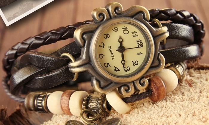 Groupon Goods Global GmbH: Jago Women's Best Friends Wrist Watch Set for €15.99