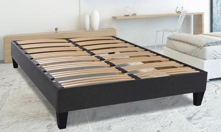 sommier a latte avec pied amazing partager sur sommier premier x lattes avec pieds with sommier. Black Bedroom Furniture Sets. Home Design Ideas