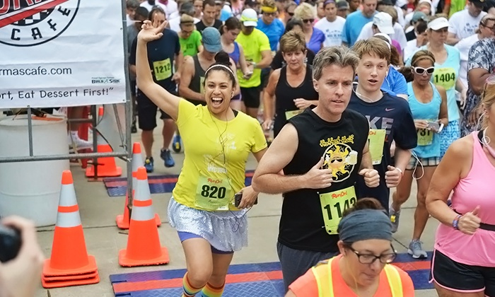 Rock The Block - Plano: 5K or 10K Registration to Rock The Block on Saturday, May 28 (Up to 50% Off)