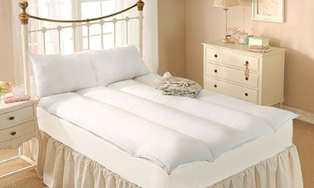 Anti-Allergy 500GSM Hollowfibre Mattress Toppers from R449 Including Delivery (Up to 55% Off)