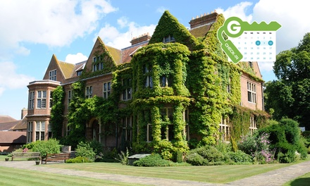 Buckinghamshire: Double Room for Two with Breakfast and Option for Dinner and Afternoon Tea at De Vere Horwood Estate