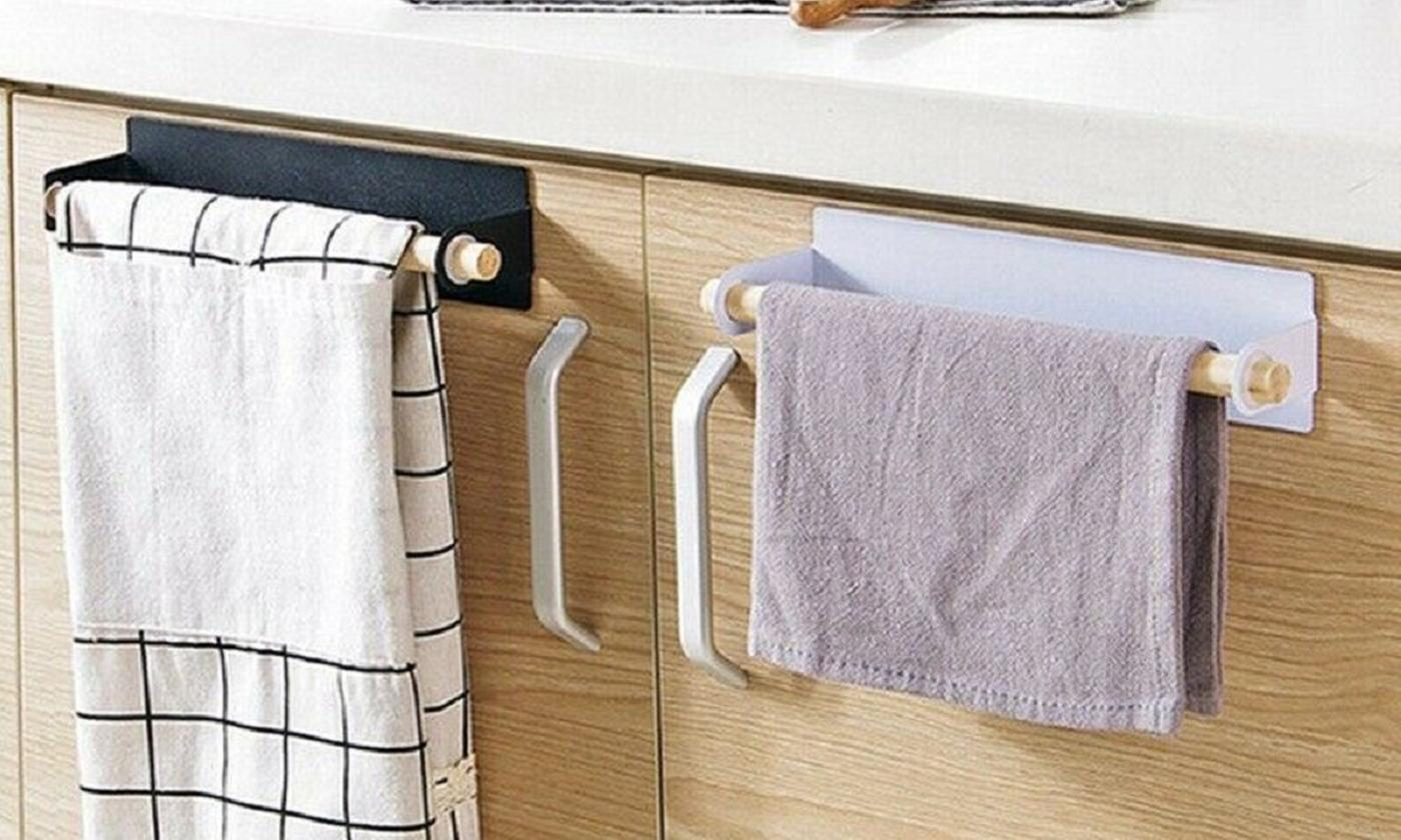 One, Two or Four Kitchen Towel Racks