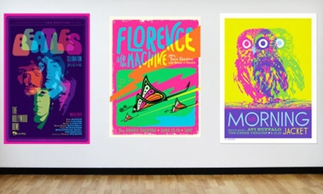 Rock 'n' Roll, Pop, Hip-Hop and Other Lithograph Concert Posters by Kii Arens (Up to 60% Off) 8c0169ef-9f73-4564-8961-e2c14c29e665