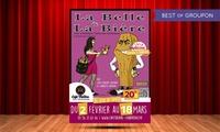 """2 places pour """"La Belle et la Bière"""" avec 2 cocktails à 32 € au café-théâtre les Chartrons"""