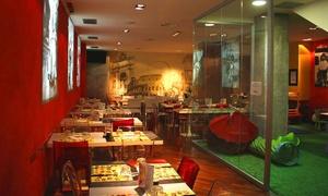 Vitelloni torino: Menu paella con antipasto, dolce e calice o un litro di vino al ristorante Vitelloni di Torino (sconto fino a 60%)