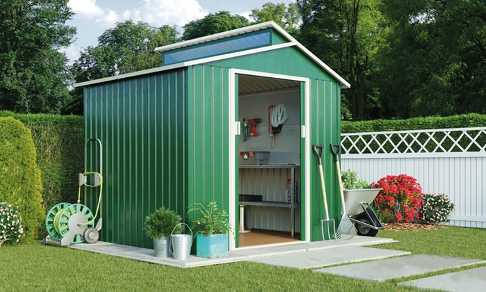 contemporary garden sheds plastic shed ft on ideas - Garden Sheds 7x6