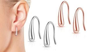 Boucles d'oreilles argent sterling de Philip Jones