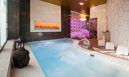 Acceso privado a spa con botella de cava y frutas desde 19,95 € en Princesa Munia Hotel & Spa