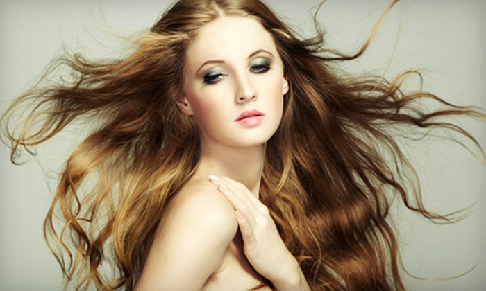 Sirens & Sailors Salon - Derby: Haircut with Optional Partial Highlights, All-Over Color, or Full Highlights at Sirens & Sailors Salon (Up to 60% Off)