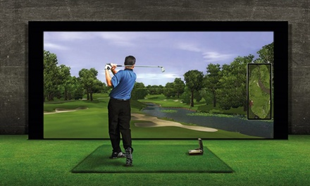 Individual Golf Lessons with PGA Professional for One or Two at Affordable Golf New Hillington Store (Up to 64% Off)