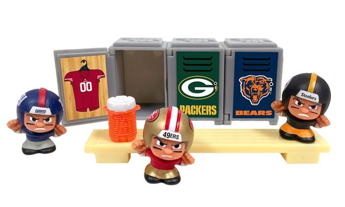 TeenyMates NFL Series 4 Locker Room Set