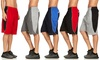 Men's Mesh Active Performance Shorts (5-Pack, S-2XL)