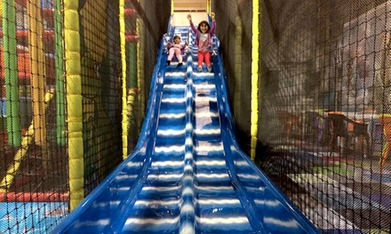 Play Centre Entry for One, Two or Four Children and Up to Four Adults with Tea for Each at Cheeky Dino