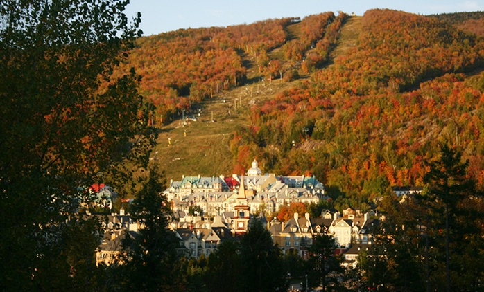 2-Night Stay in a Condo for Four to Eight with Spa Access at Tremblant Les Eaux (Up to 58% Off)