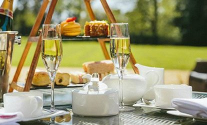 Afternoon Tea with Optional Bubbly for Two or Four at Holiday Inn Milton Keynes East (Up to 40% Off)