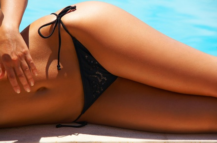 One Brazilian Wax from Candace at The Beauty Bar Salon (34% Off)
