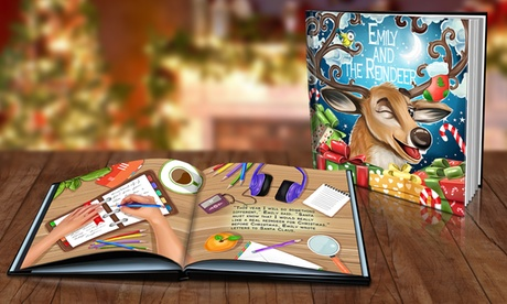 One, Two, or Six Personalized Christmas Storybooks from Dinkleboo (Up to 86% Off)
