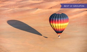 Balloon Adventures: Hot Air Balloon Ride with Optional Wildlife Safari for One Child, One Adult or Two Adults at Balloon Adventures