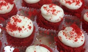 Sweet Sweet Sues Custom Cakes & Cupcake Cafe: Mini Cupcakes or Custom Cake Credit at Sweet Sweet Sue's Custom Cakes & Cupcake Cafe (Up to 50% Off)