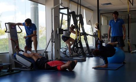 2 o 4 sesiones de fisioterapia con diagnóstico previo desde 29,95 € en Sportplus Center Oferta en Groupon