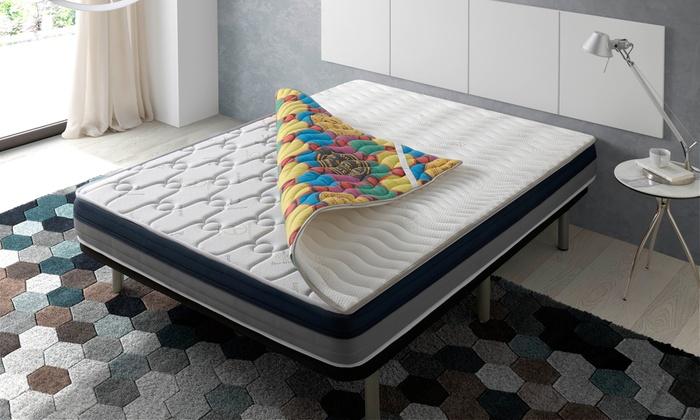 topper 4d deluxe matratze groupon goods. Black Bedroom Furniture Sets. Home Design Ideas