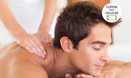 Barbearia Isac.com – Águas Claras:1, 3 ou 6 sessões de massagem terapêutica ou redutora