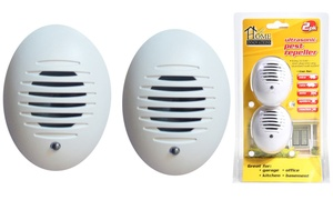Ultrasonic Pest Repeller (2-Pack)